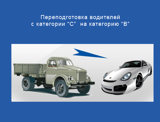"""Переподготовка с """"С"""" на """"В"""""""